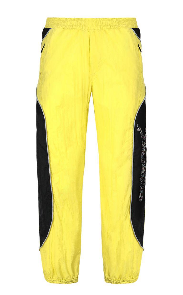 JUST CAVALLI Cheetah-detail trousers Casual pants Man f