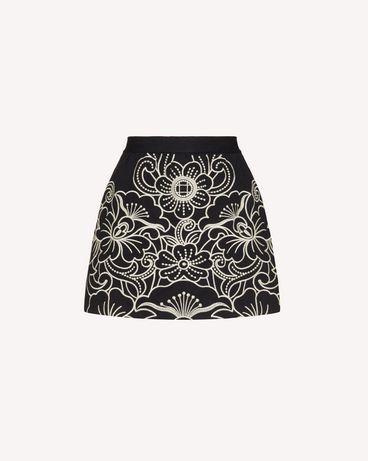 REDValentino TR3RF00F4TE 0NO Shorts Woman a