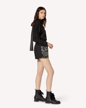 REDValentino TR3RF00F4TE 0NO Shorts Woman d