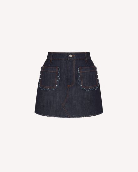 REDValentino Shorts Woman TR3DD01T4U1 528 a