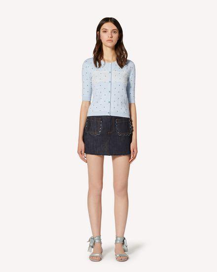 REDValentino Shorts Woman TR3DD01T4U1 528 f