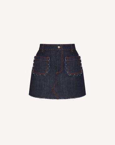 REDValentino TR3DD01T4U1 528 Shorts Woman a