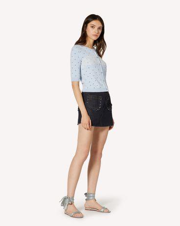 REDValentino TR3DD01T4U1 528 Shorts Woman d