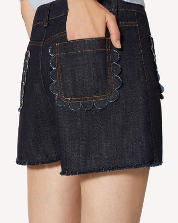 REDValentino TR3DD01T4U1 528 Shorts Woman e