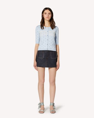 REDValentino TR3DD01T4U1 528 Shorts Woman f