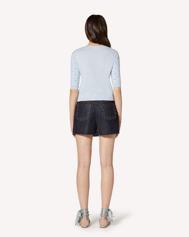 REDValentino TR3DD01T4U1 528 Shorts Woman r
