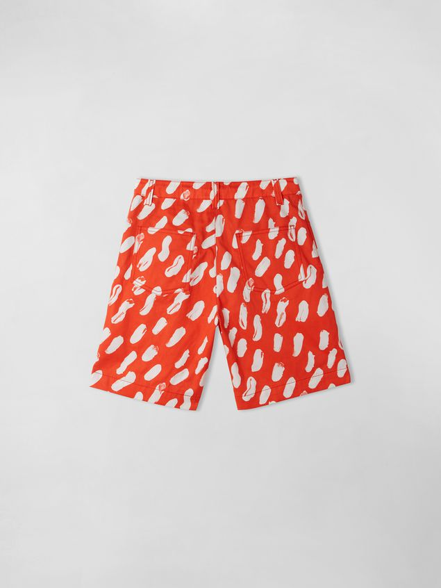 Marni GEA PRINT SHORT PANTS  Woman - 2