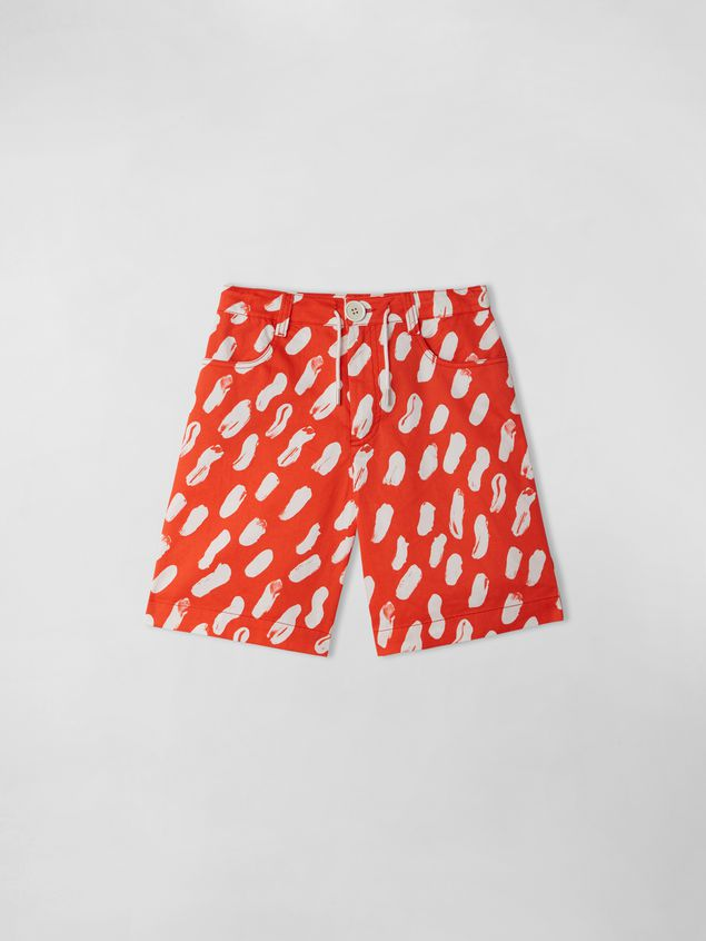 Marni GEA PRINT SHORT PANTS  Woman - 1