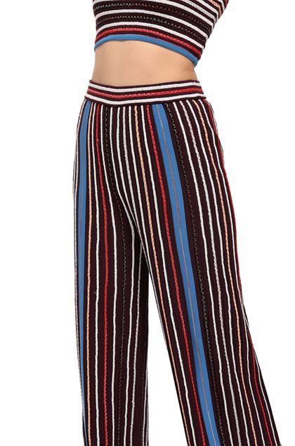 M MISSONI Pants Maroon Woman - Front