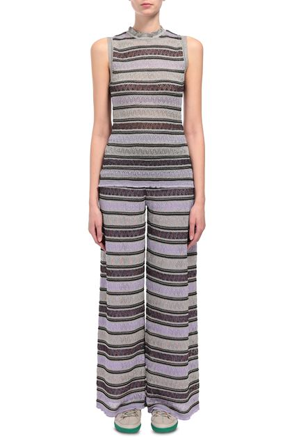 M MISSONI Trouser Lilac Woman - Back