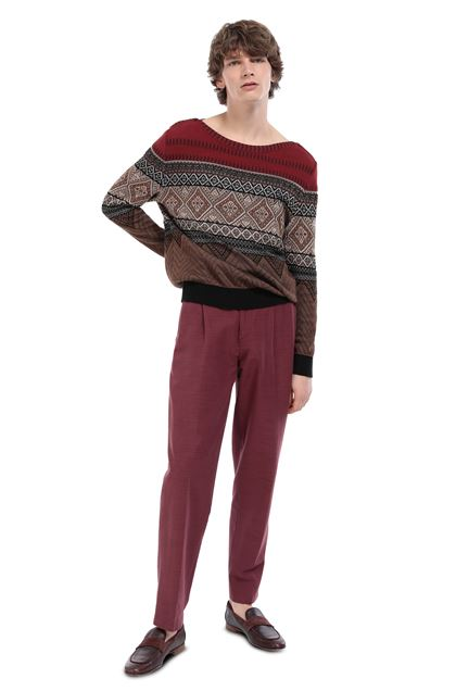 MISSONI Pants Garnet Man - Front