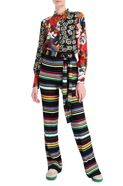 M MISSONI Trouser Black Woman - Back