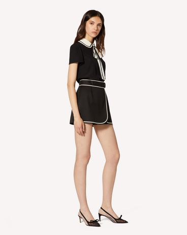 REDValentino TR3RFC853M7 0NO Shorts Woman d