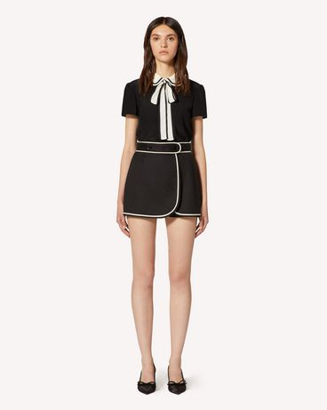 REDValentino TR3RFC853M7 0NO Shorts Woman f