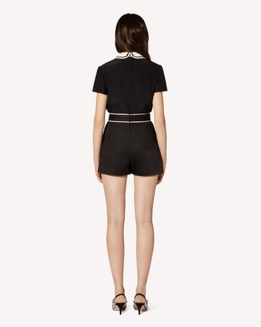 REDValentino TR3RFC853M7 0NO Shorts Woman r