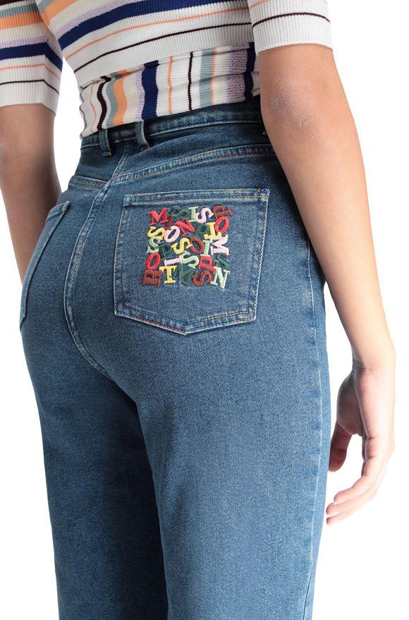 M MISSONI Five-Pockets Woman, Rear view