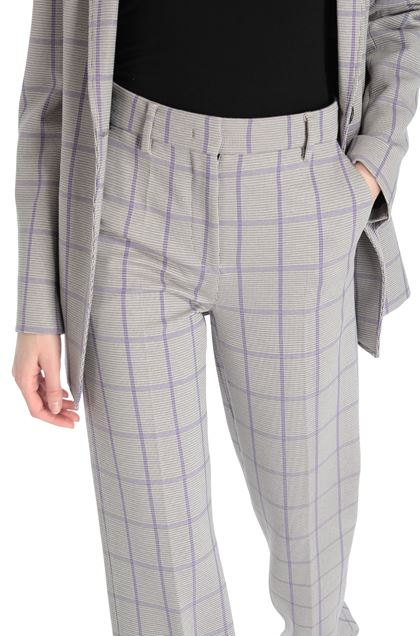 M MISSONI Pants Purple Woman - Front