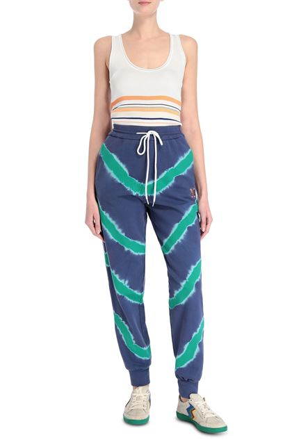M MISSONI Pants Purple Woman - Back