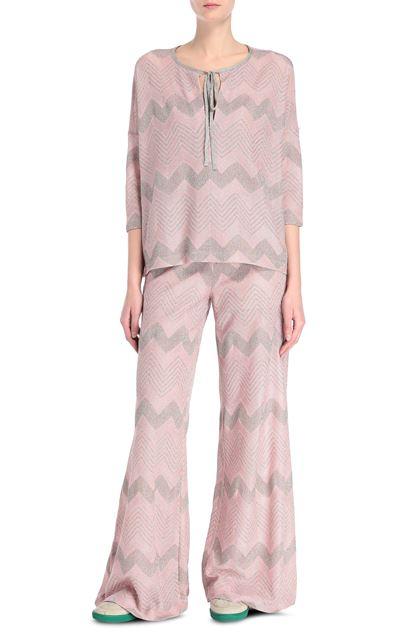 M MISSONI Trouser Pink Woman - Back