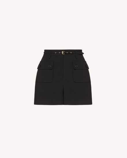 REDValentino Shorts Woman TR3RFC80WBP 0NO a