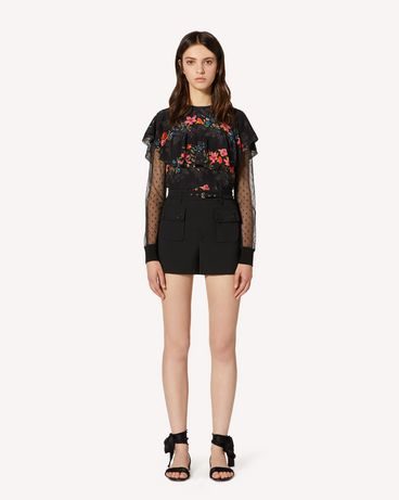 REDValentino TR3RFC80WBP 0NO Shorts Woman f