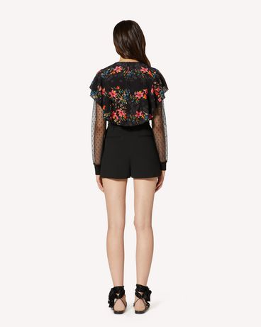 REDValentino TR3RFC80WBP 0NO Shorts Woman r