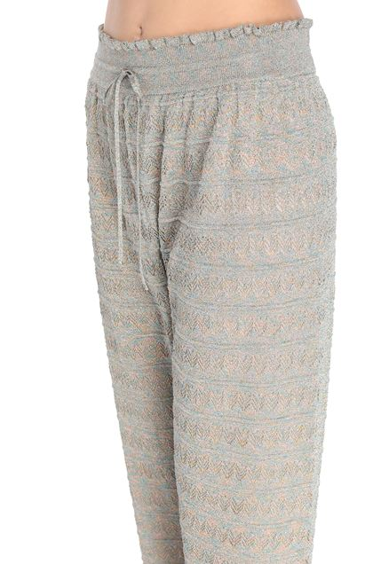 M MISSONI Pants Platinum Woman - Front