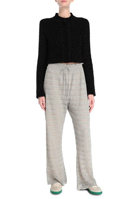 M MISSONI Trouser Platinum Woman - Back