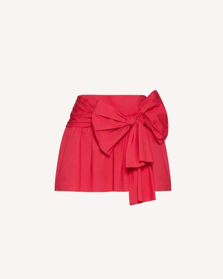 REDValentino Shorts Woman TR0RFD000VU FE7 a