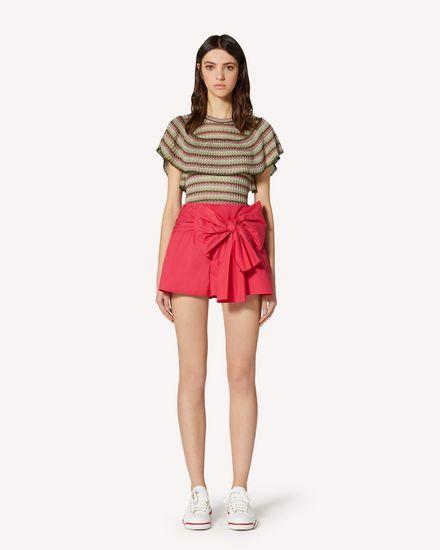 REDValentino Shorts Woman TR0RFD000VU FE7 f