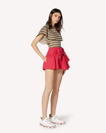 REDValentino TR0RFD000VU FE7 Shorts Woman d