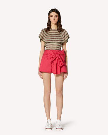 REDValentino TR0RFD000VU FE7 Shorts Woman f
