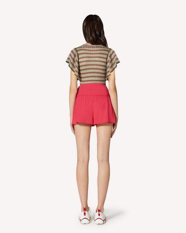 REDValentino TR0RFD000VU FE7 Shorts Woman r