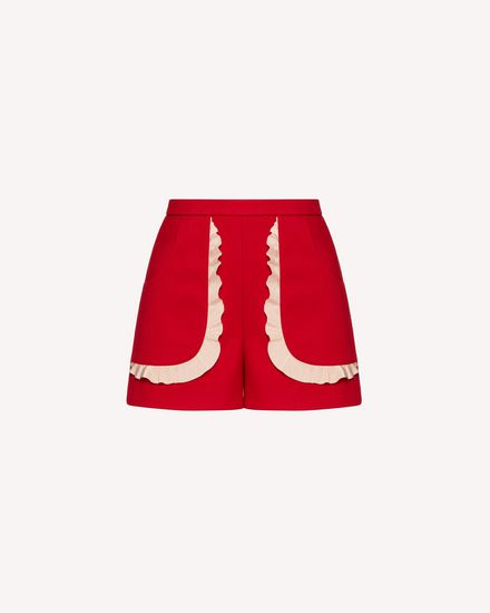 REDValentino Shorts Woman TRCRFD50436 23Y a