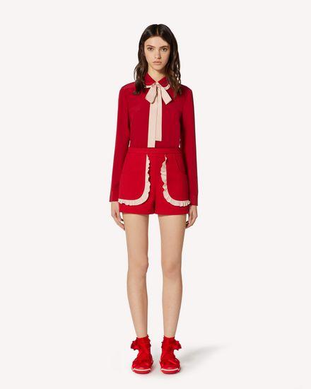 REDValentino Shorts Woman TRCRFD50436 23Y f