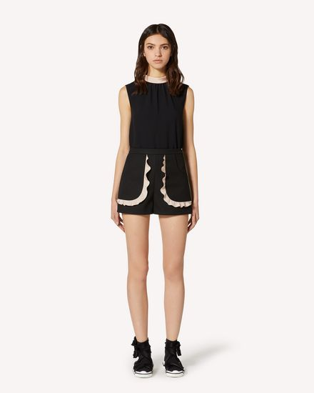 REDValentino Shorts Mujer TRCRFD50436 0NN f
