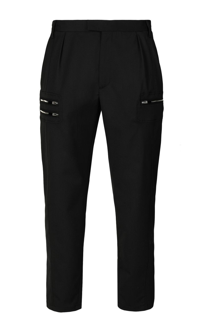 JUST CAVALLI Elegant trousers with zip detail Casual pants Man f