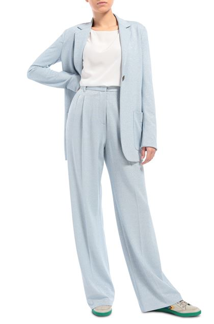 M MISSONI Pants Sky blue Woman - Back