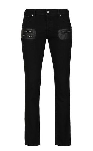 JUST CAVALLI Jeans Man Jeans with zip detailing f