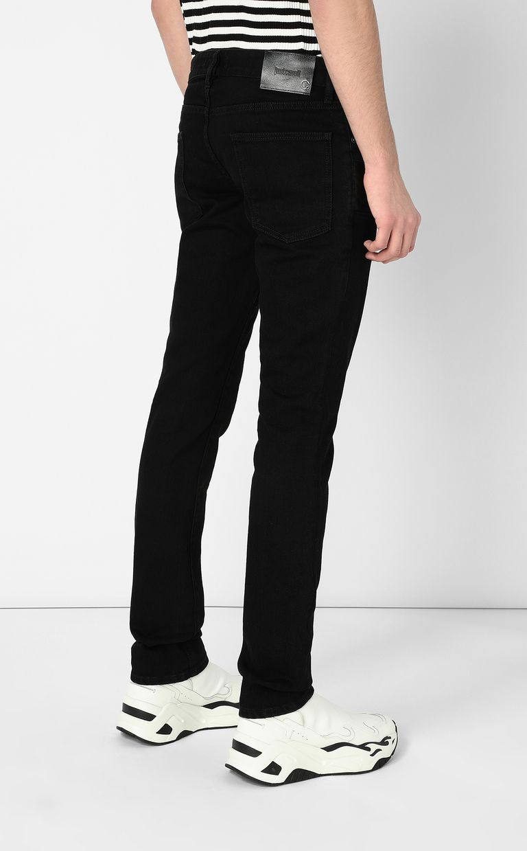 JUST CAVALLI Jeans with zip detailing Jeans Man a