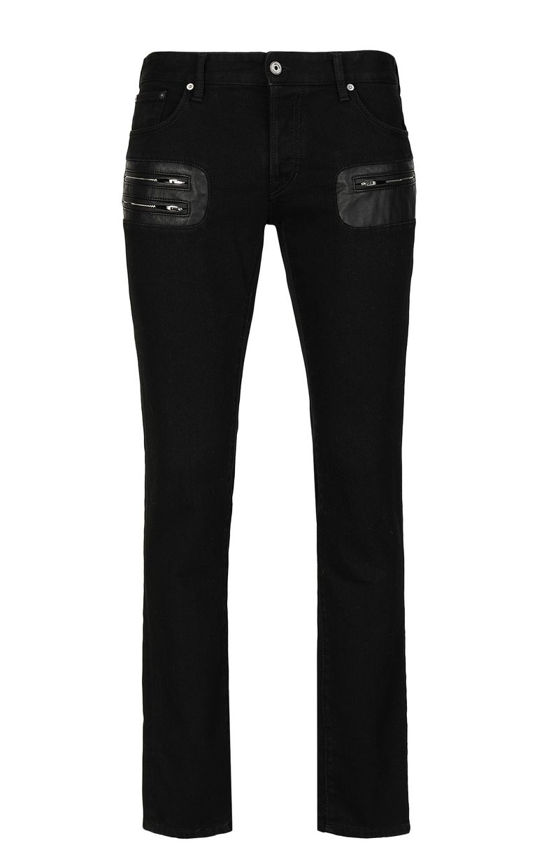 JUST CAVALLI Jeans with zip detailing Jeans Man f