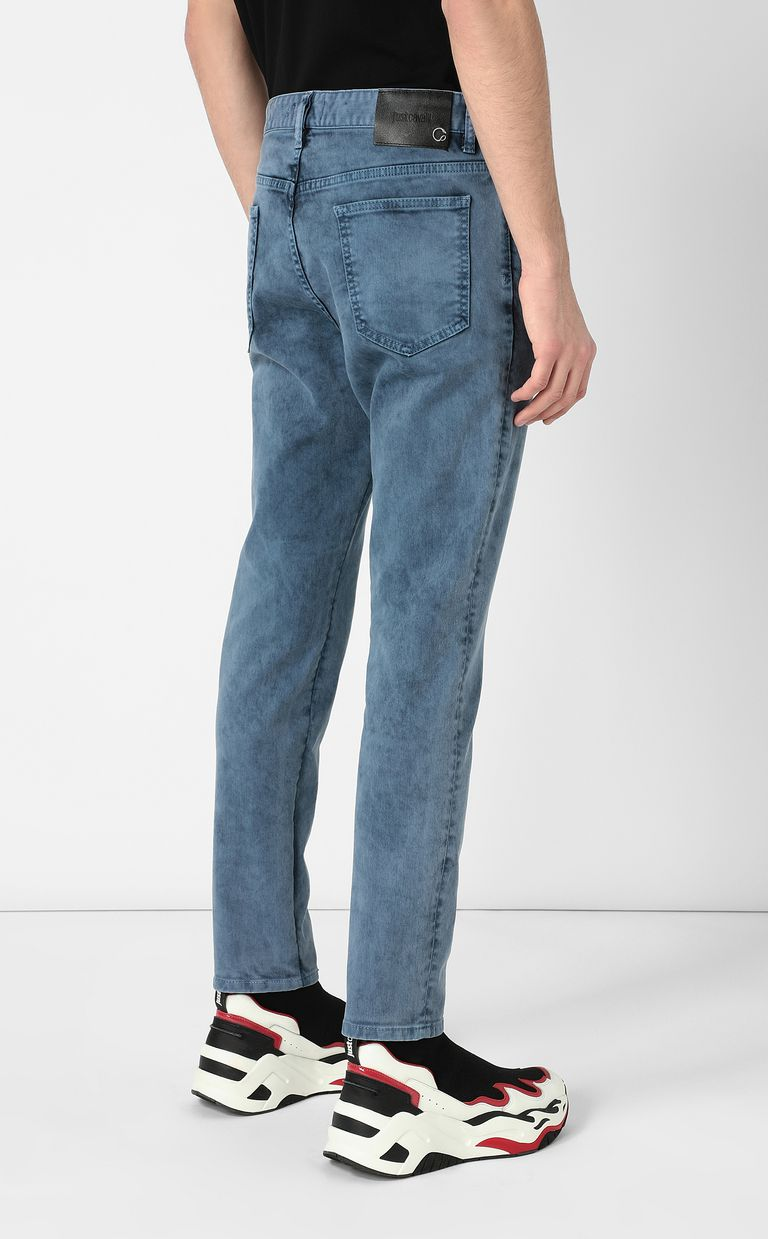 JUST CAVALLI Jeans with star detail Casual pants Man a