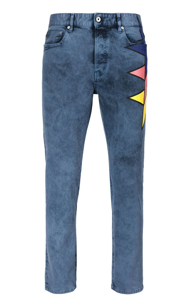 JUST CAVALLI Jeans with star detail Casual pants Man f