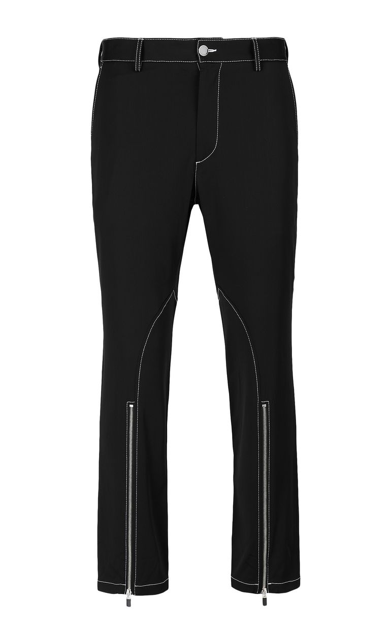 JUST CAVALLI Trousers with zip detailing Casual pants Man f
