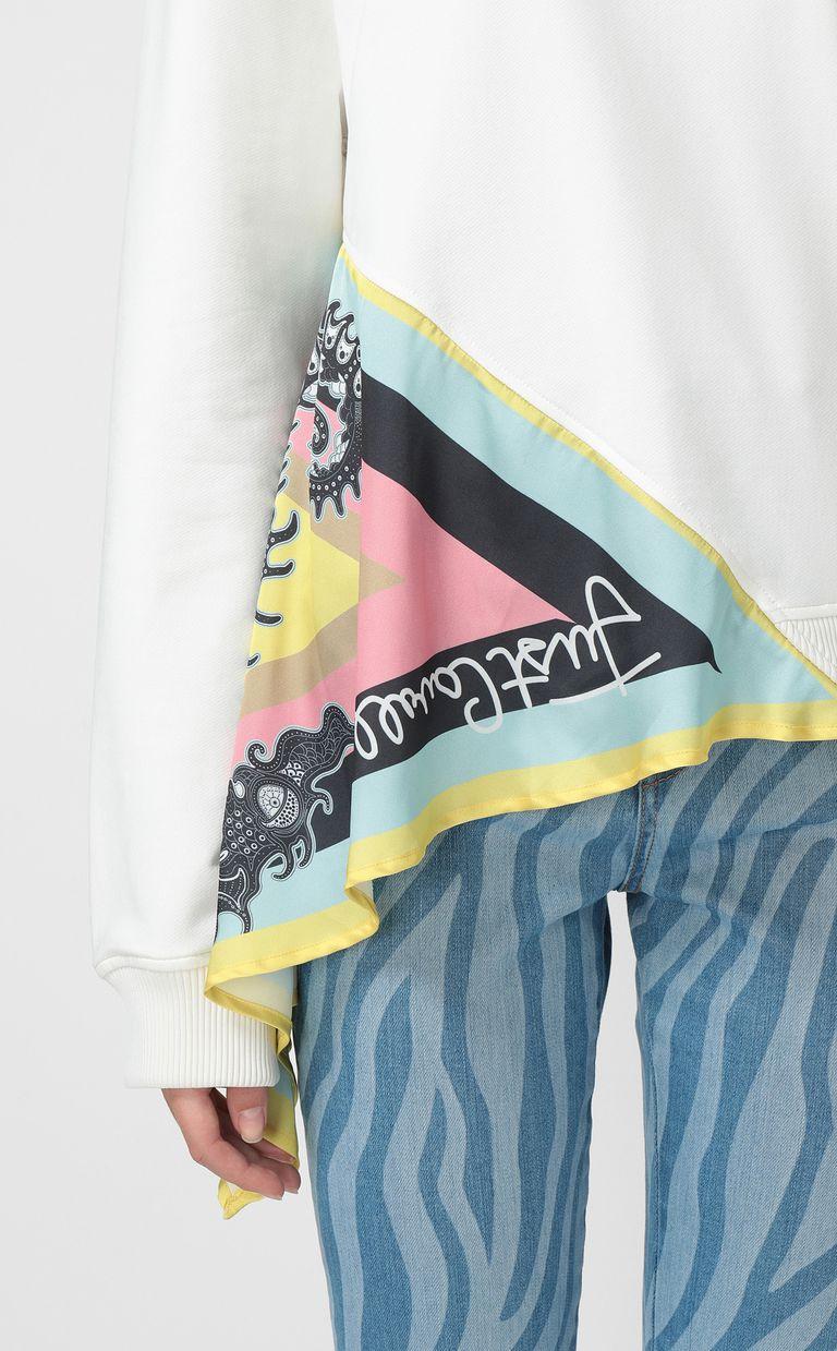 JUST CAVALLI Zebra-stripe skinny jeans Casual pants Woman e