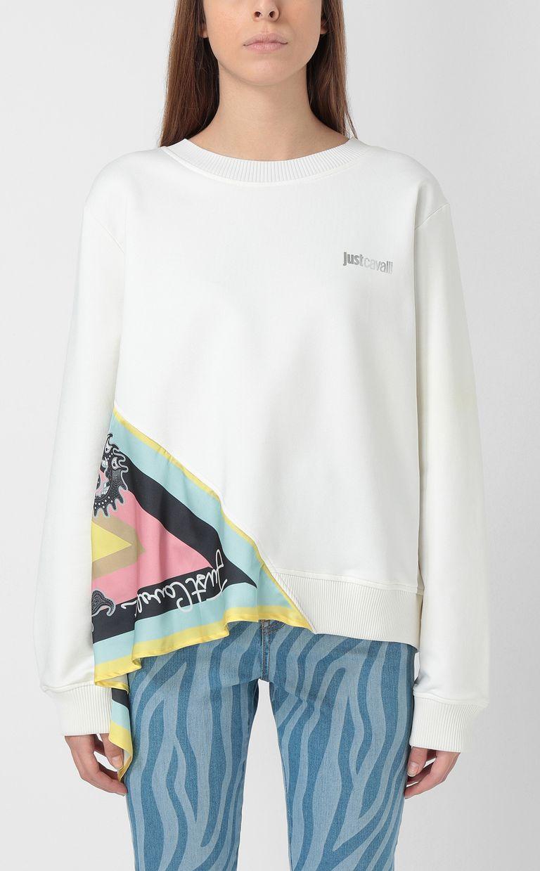 JUST CAVALLI Zebra-stripe skinny jeans Casual pants Woman r