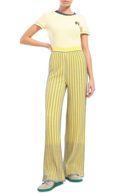 M MISSONI Pants Yellow Woman - Back
