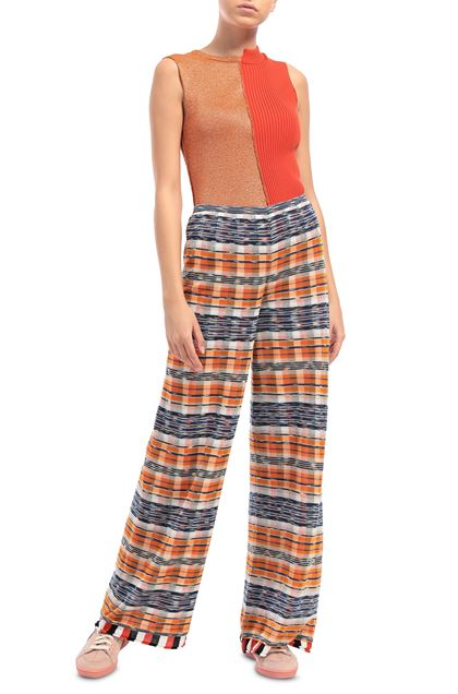 M MISSONI Pants Orange Woman - Back
