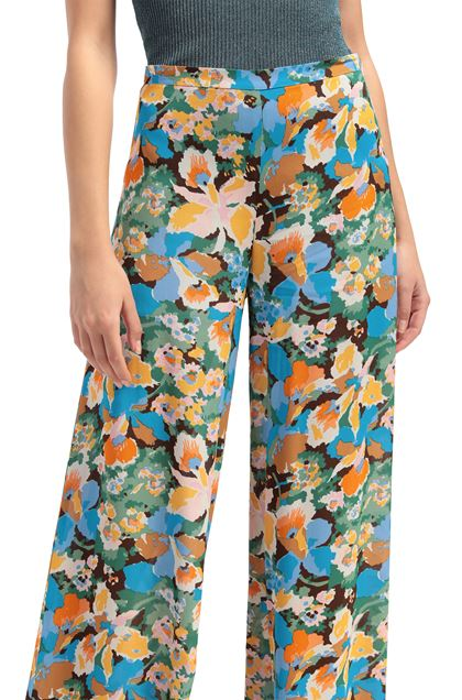 M MISSONI Trouser Azure Woman - Front