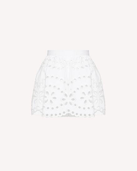 REDValentino Shorts Woman TR0RF00I51N 0BO a